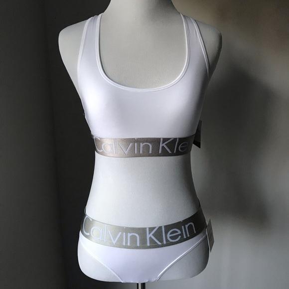 2ff5d922bb3 Calvin Klein Microfiber Bralette and Panty Set